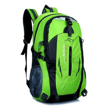 30L Water-resistant Hiking Camping Backpack Breathable Outdoor Sport Travel Daypack Bag for Men Women