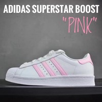 Adidas Superstar Boost Pink Women Running Shoes