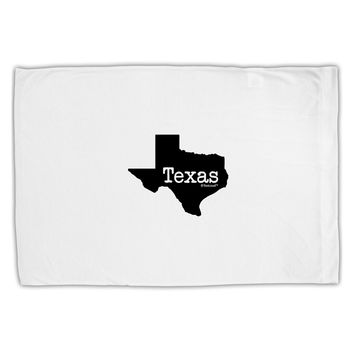 Texas - United States Shape Standard Size Polyester Pillow Case by TooLoud