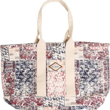 BILLABONG DREAMIN DESSERTS CANVAS TOTE
