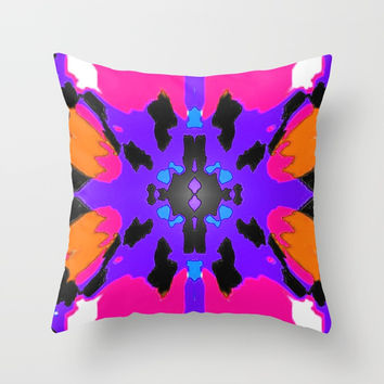 Empire Throw Pillow by Phinilez