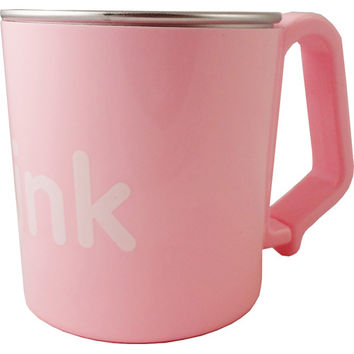 Thinkbaby Cup  Kids  Bpa Free  Pink  8 Oz