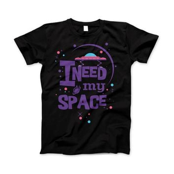 I Need My Space T-shirt Cheesy Funny Astronomy Humor Tee