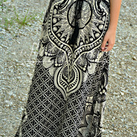 PEACEFUL DREAM MAXI SKIRT