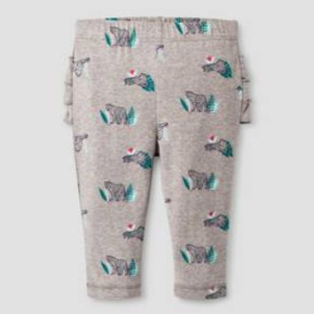 Baby Girls' Leopard Legging Cat & Jack™ - Gray