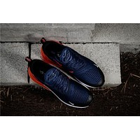 Air Max 270 Navy Orange AH8050-401 Running Shoe