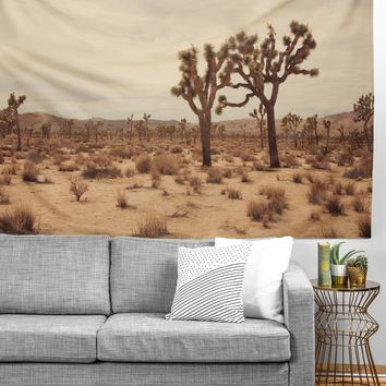 Catherine McDonald California Joshua Trees Tapestry