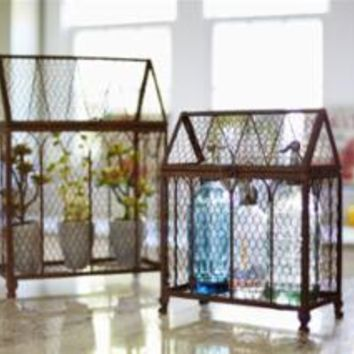 Chicken Wire Bird Cages
