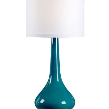 Florence Lamp Turquoise