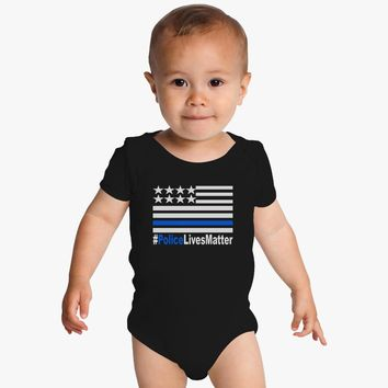 Police Lives Matter Baby Onesuits