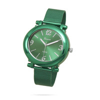 Green Mesh Fashion Watch