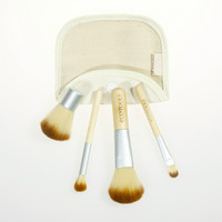 Environmental 4-pcs Bamboo Stalk Make-up Brush Set = 4831003460