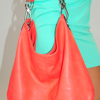 Only One Shot Purse: Coral