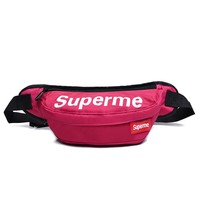 Men's and Women's Supreme Chest Pockets Oxford Casual Riding Bag  058