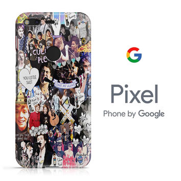 One Direction and 5sos Collage Google Pixel Phone 3D Case