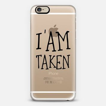 I'am taken - wedding1 iPhone 6 case by Yasmina Baggili | Casetify