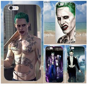2018 Suicide Squad Joker Harley Quinn For iPhone X 4 4S 5 5C SE 6 6S 7 8 Plus Galaxy S5 S6 S7 S8 Grand Core II Prime Alpha