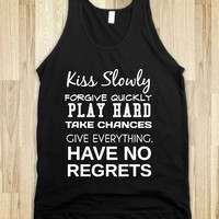 NO REGRETS - glamfoxx.com