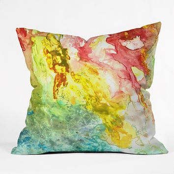 Rosie Brown Ray of light Throw Pillow