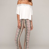 Raga Bell Pants - Womens Pants - Multi -