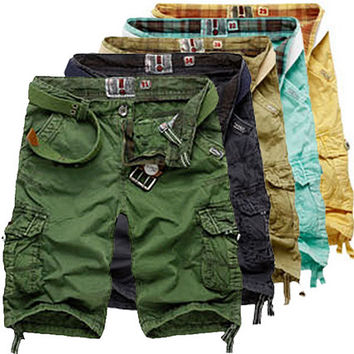 Men Fashion Style Cargo Shorts