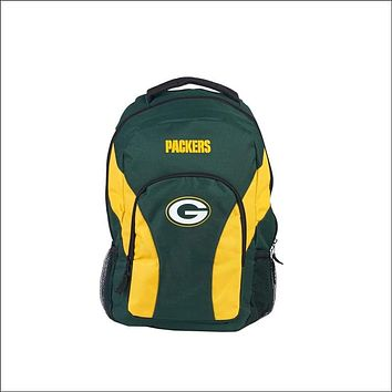 """Packers OFFICIAL National Football League, """"""""Draft Day"""""""" 18""""""""H x 10"""""""" (12"""""""" Back) Backpack  by The Northwest Company"""