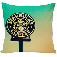 Starbucks Couch Pillow