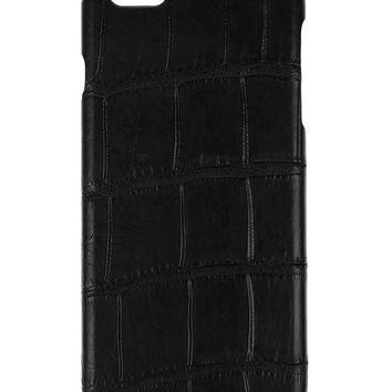 IPhone 6 Plus Case Alligator Black