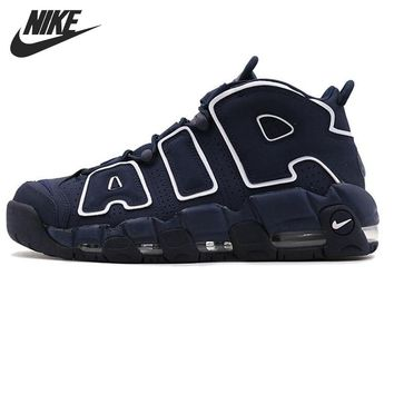Original New Arrival 2017 NIKE AIR MORE UPTEMPO Men's Basketball Shoes Sneakers