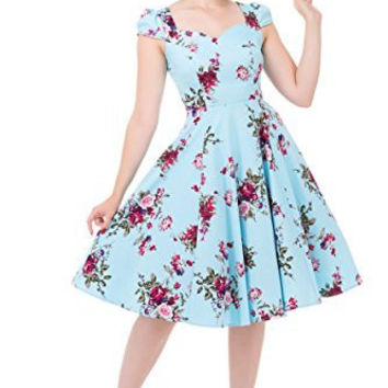 Royal Ballet Rose Swing Dress