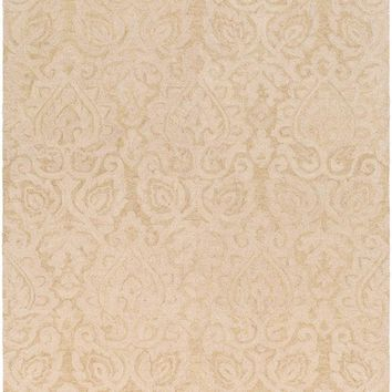 Surya Scott Medallions and Damask Neutral SCT-1003 Area Rug