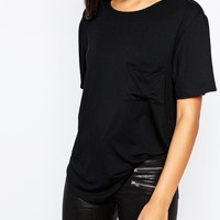 Missguided Pocket T-Shirt