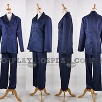 Custom Tenth Doctor Costume from Doctor Who - Tailor-Made Cosplay Costume