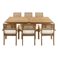 Wooden Dining Set (7 PC)