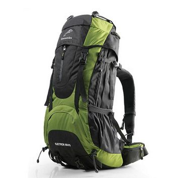 High Quality Mountaineering Bags Large Capacity Waterproof Travel Backpack Men Backpack Oxford Overnight Bag Big Weekend Bags