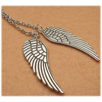 Wings Necklace by turquoisecity on Etsy