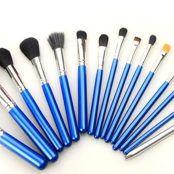 Hot Deal Beauty On Sale Hot Sale Make-up 15-pcs Silver Make-up Brush [9647074063]