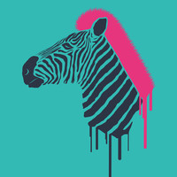 Zebra's Not Dead II Art Print by filiskun | Society6