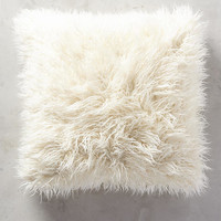 Shag Puff Pillow