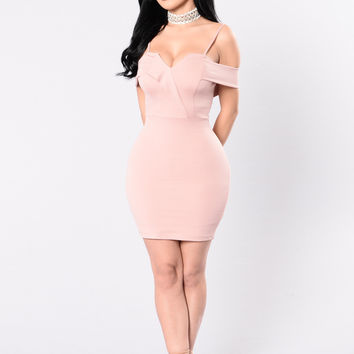 Natasha Dress - Mauve