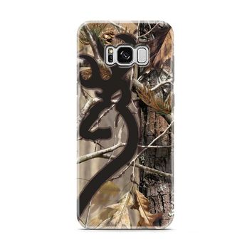 Love Browning Deer Camo Real Tree Couple Samsung Galaxy S8 | Galaxy S8 Plus case