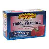 Emergen-C Health and Energy Booster Raspberry 30 Packets [0.3 oz (9.4