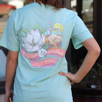 Magnolia Mornings Tee by LAUREN JAMES {Mint}