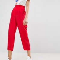 ASOS Tapered Peg Pants at asos.com