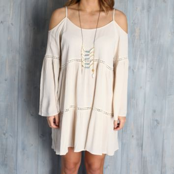 Umgee Cream Boho Babe Dress