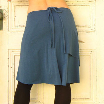 $50.00 Custom Organic Wrap Skirt Soy or Bamboo Organic (12 colors available) by VioletStarCreations