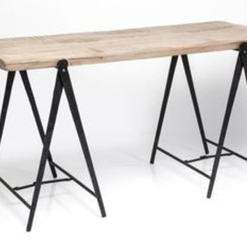 Industrial Scissor Leg Desk