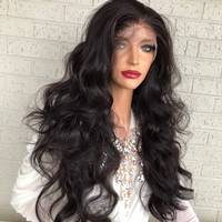 "Purple Burgundy Hair SWISS Lace Front Wig with Multiple Parting 26"" Celestial Queen 0319 33"
