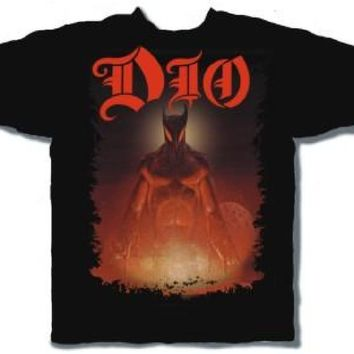 Dio T-shirt - The Last in Line Album Cover | Men's Black Shirt