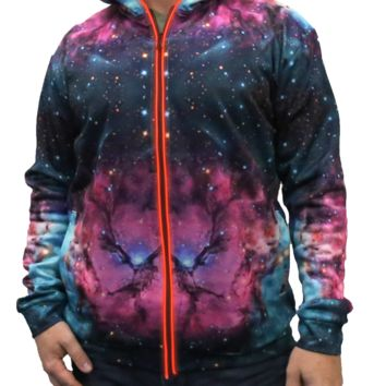 Extraterrestrial Light Up Hoodie - Ready To Ship
